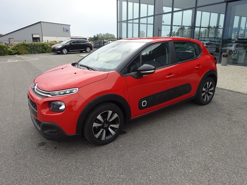 Citroen C3 BLUEHDI 75CH FEEL S&S Diesel ORANGE Occasion à vendre