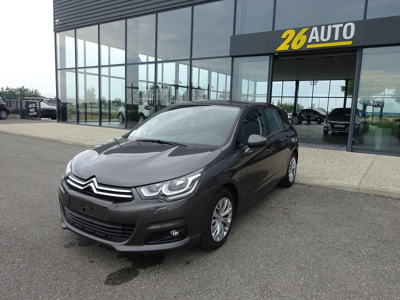 Photo 1 de l'offre de CITROEN C4 BLUEHDI 100CH FEEL à 13590€ chez 26 Auto
